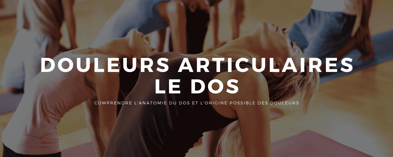 Articulations : 30% de la population a souvent mal au dos - Yoga